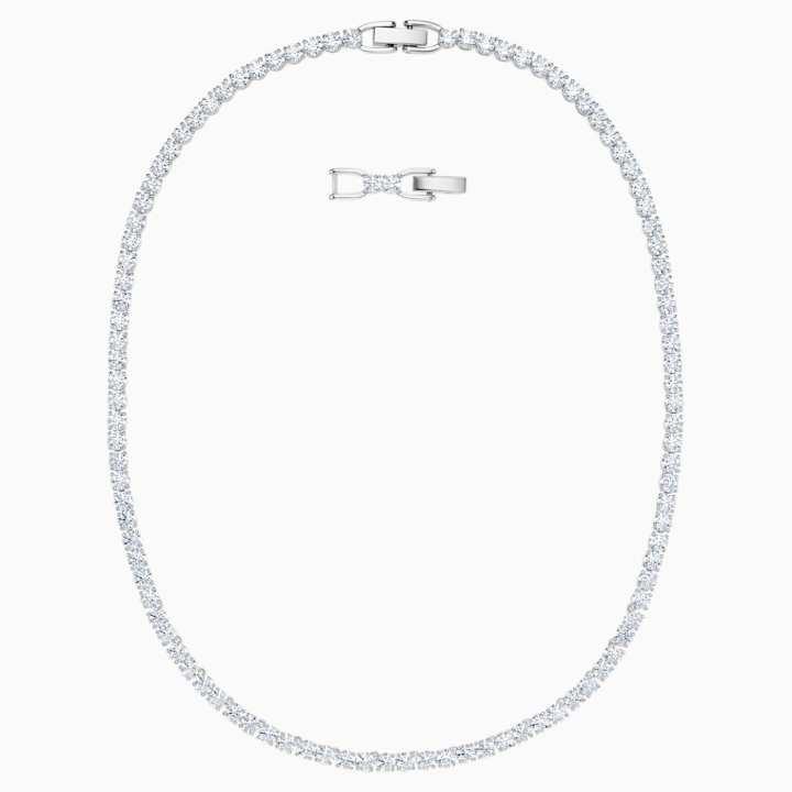 Gli accessori da sposa collana-tennis-swarovski