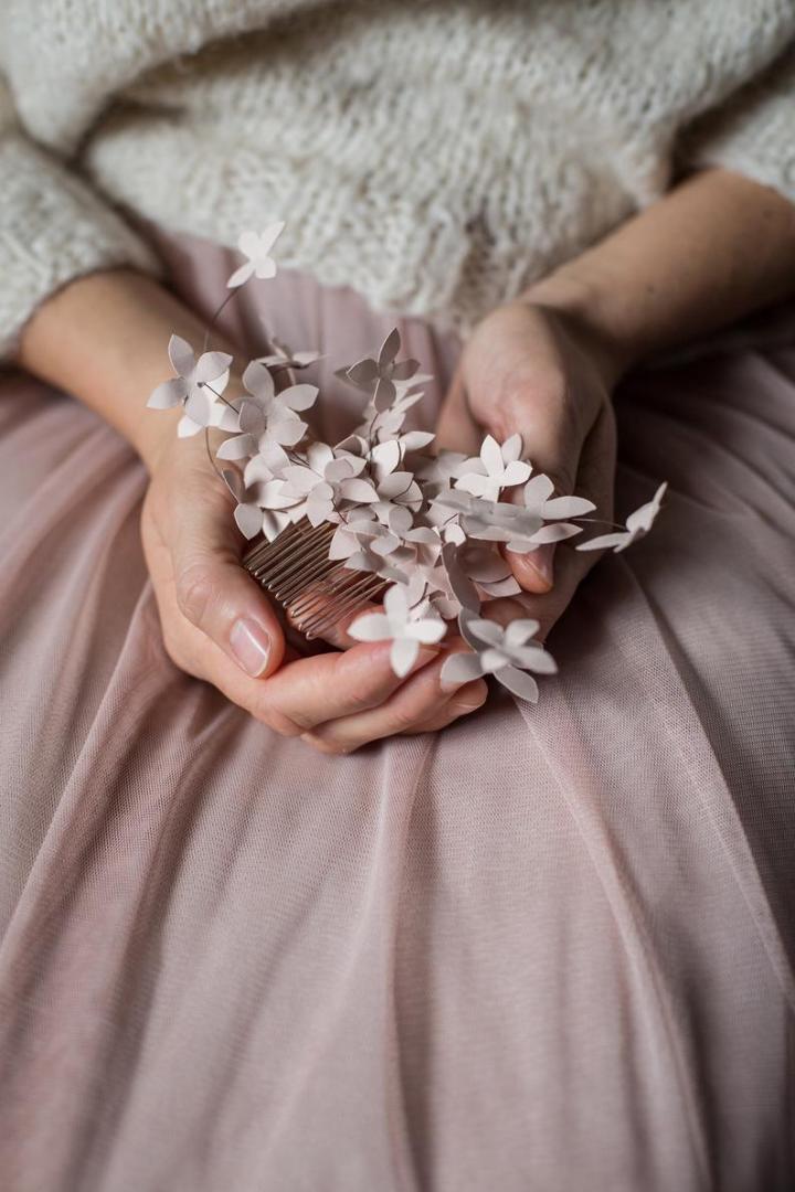 Gli accessori da sposa Fermaglio per capelli Paperthink