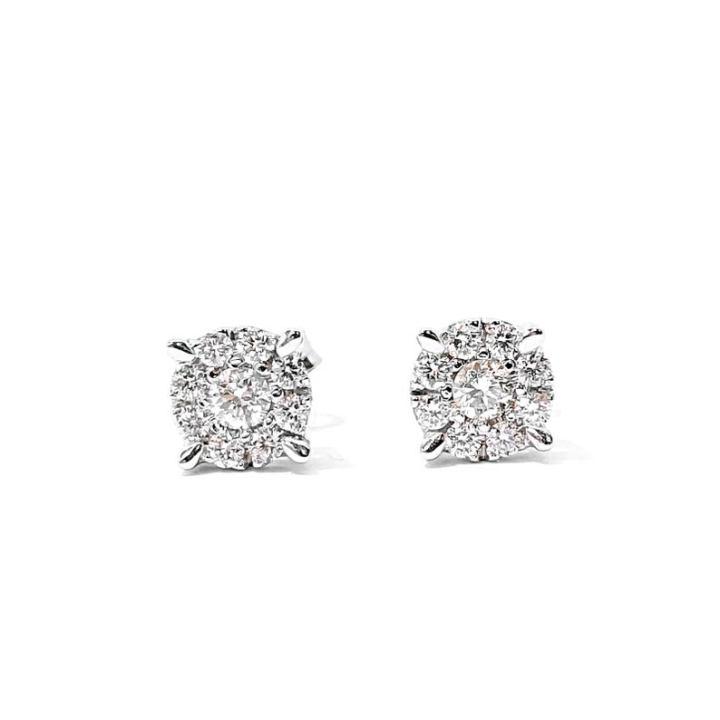 Gli accessori da sposa Orecchini con diamanti FabriziBros Jewelry