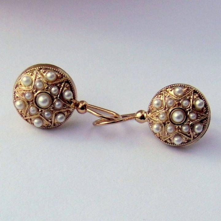 Gli accessori da sposa Orecchini Riflessidiuntempo